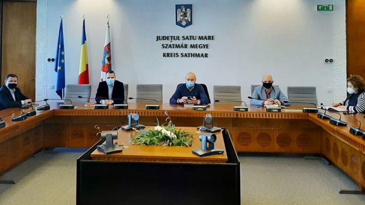 Astăzi s-a deschis primul centru comunitar de vaccinare în municipiul Satu Mare
