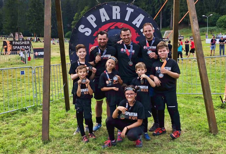 Sportivii de la Energy Kardio Club, prezenți la Spartan Race România