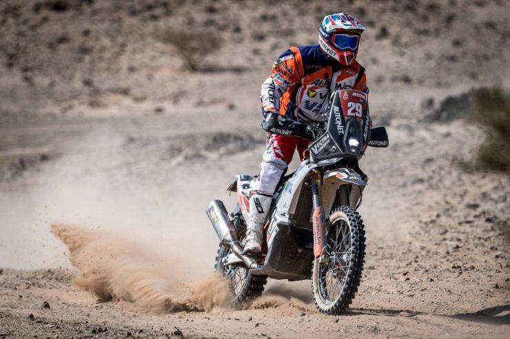 Dakar 2021 | Ziua 4 | Cea mai bună clasare din acest an pentru Mani Gyenes