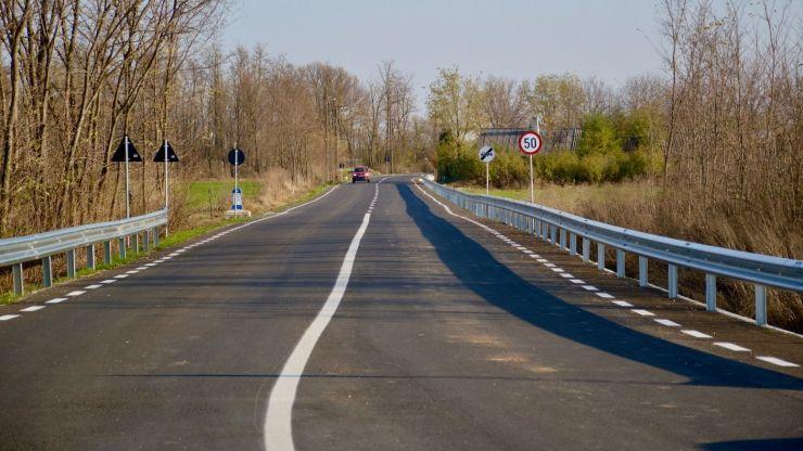 Drumul către ștrandul Mihăieni a fost modernizat