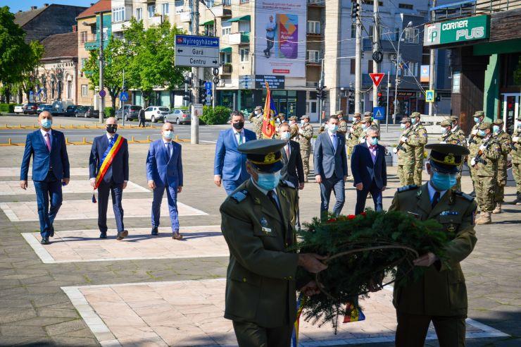 Ziua de 9 Mai, marcată la Satu Mare