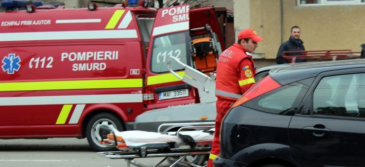 Accident grav | Două victime au fost transportate la Unitatea de Primiri Urgenţe Satu Mare, iar una la Zalău