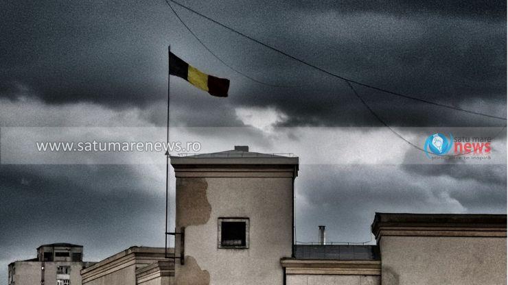 ANM: Avertizare de grindină și ploi torențiale în județul Satu Mare