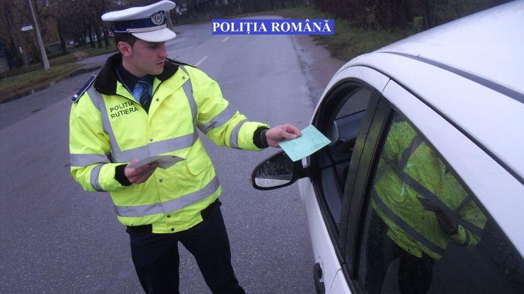 Record de amenzi! Peste 200 de sancțiuni au dat polițiștii sătmăreni în weekend