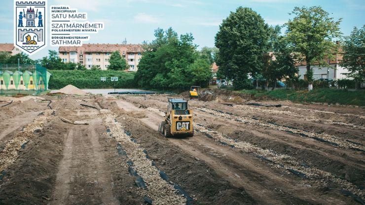 """Au început lucrările de amenajare a complexului sportiv """"Dinamo"""""""