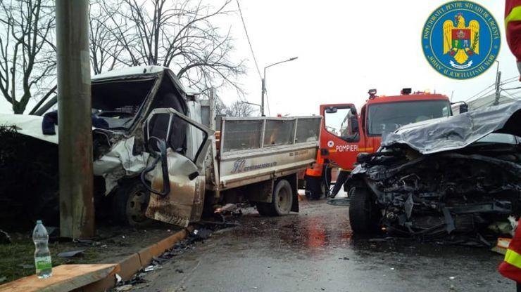 Un bărbat, de 29 de ani, vinovat de producerea accidentului de pe strada Careiului