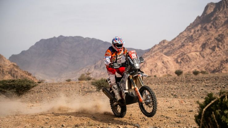 Emanuel Gyenes a terminat pe locul 23 Dakar 2021