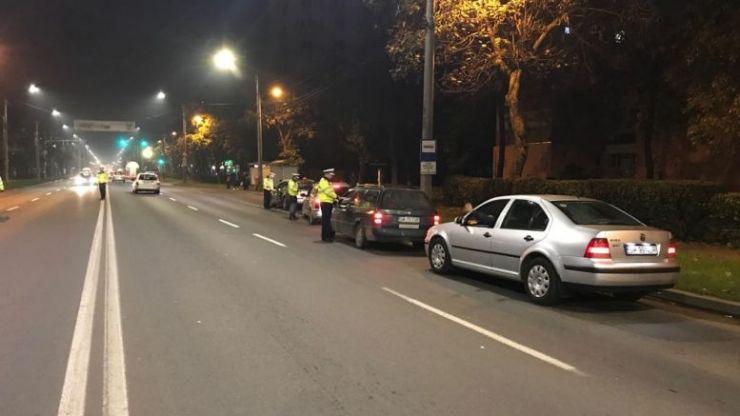 Razie a polițiștilor din Satu Mare, azi-noapte