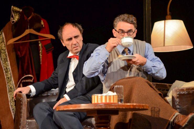 """Spectacolul """"Cabinierul"""" cu Radu Botar și Ciprian Vultur, la Teatrul de Nord"""