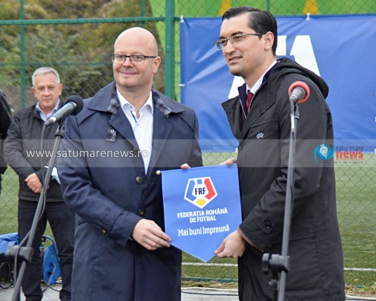 Răzvan Burleanu, prezent la inaugurarea Bazei Sportive Dinamo