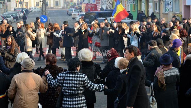 Manifestări dedicate Zilei Unirii Principatelor Române, la Satu Mare (foto)