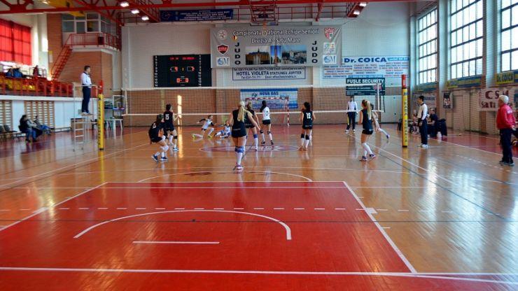 Volei: CSM Satu Mare 3 – 0 CSU Bravol Brașov