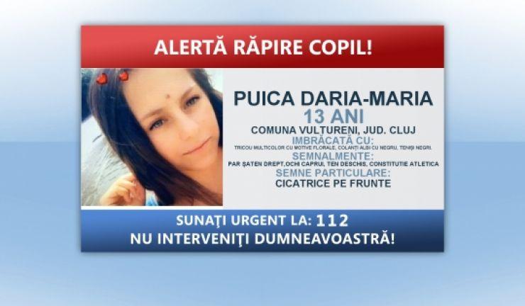 O copilă de 13 ani a dispărut de acasă!