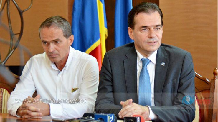 Ludovic Orban susține alianța PNL-UDMR de la Satu Mare