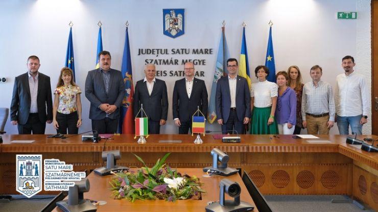 20 de ani de parteneriat între Satu Mare și Nyíregyháza