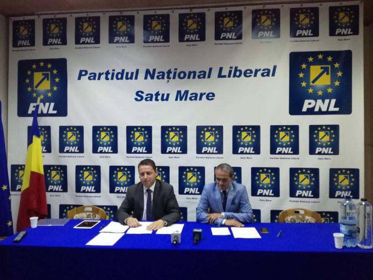 Conducerea PNL Satu Mare a prezentat prioritățile Iegislative ale PNL pentru sesiunea parlamentară de toamnă