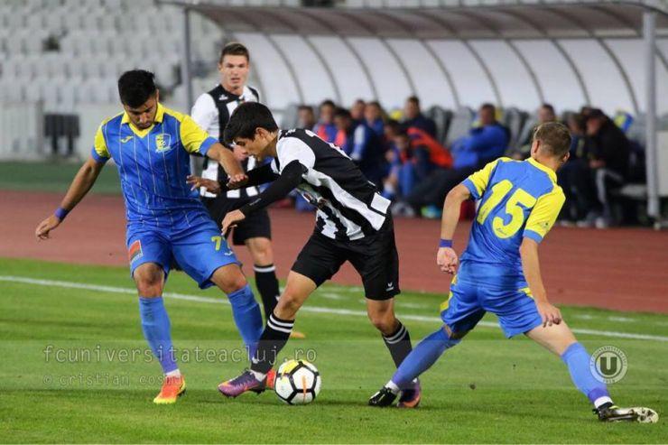 Olimpia, eliminată din Cupa României de FC Universitatea Cluj