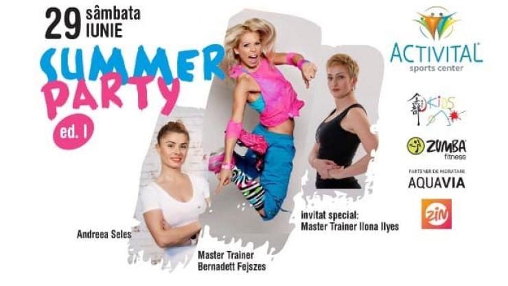 Sătmărenii sunt invitați sâmbătă la Summer Party!