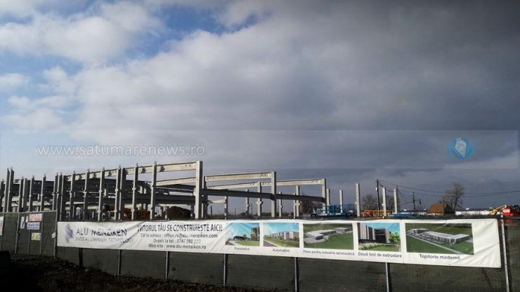 Lucrările la noua fabrică a celor de la Alu Menziken avansează rapid