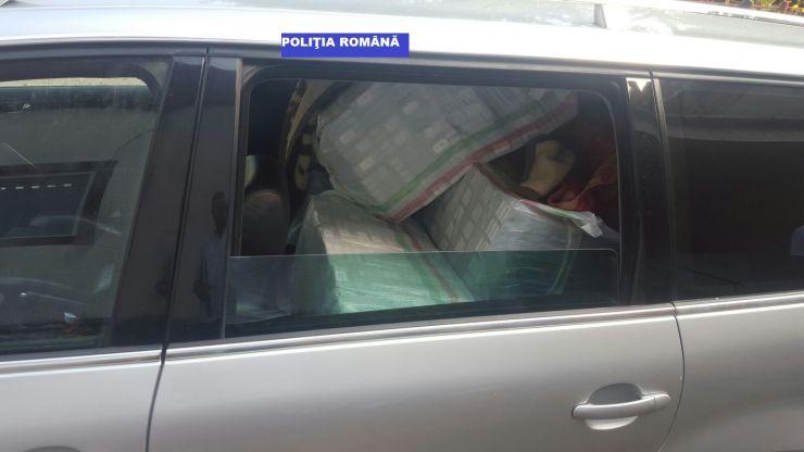 Contrabandist, reţinut pentru 24 de ore de polițiștii careieni