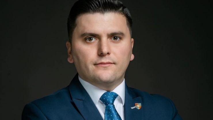Adrian Cozma, candidatul PNL la președinția Consiliului Județean. A obținut peste 50% dintre voturile colegilor