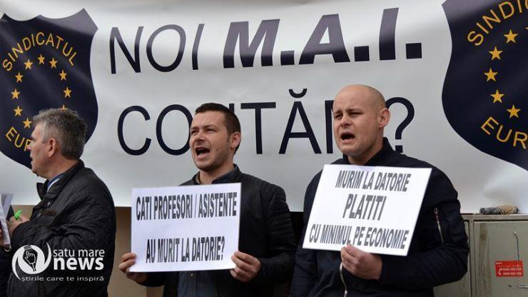 Agenții de la ordine publică și rutieră, desconsiderați de conducerea IPJ Satu Mare