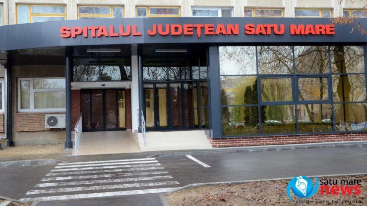 Intrarea în Spitalul Județean de Urgență Satu Mare a fost reabilitată