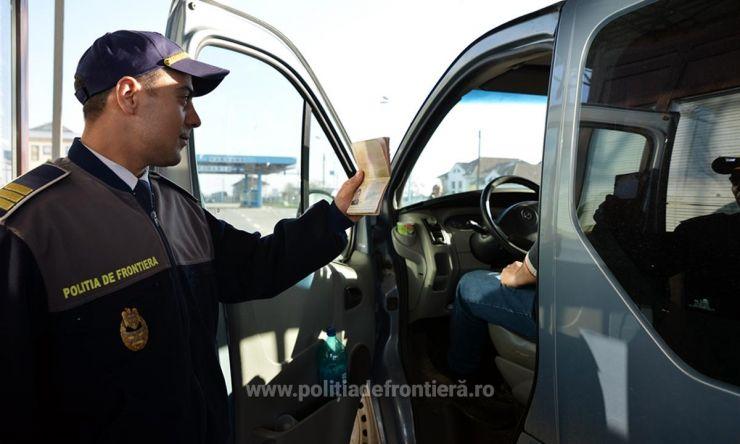 Cetățean maghiar prins cu țigări de contrabandă