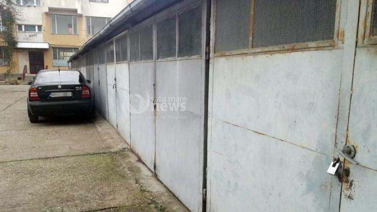 Hoții au spart garajele din curtea Palatului de Justiție