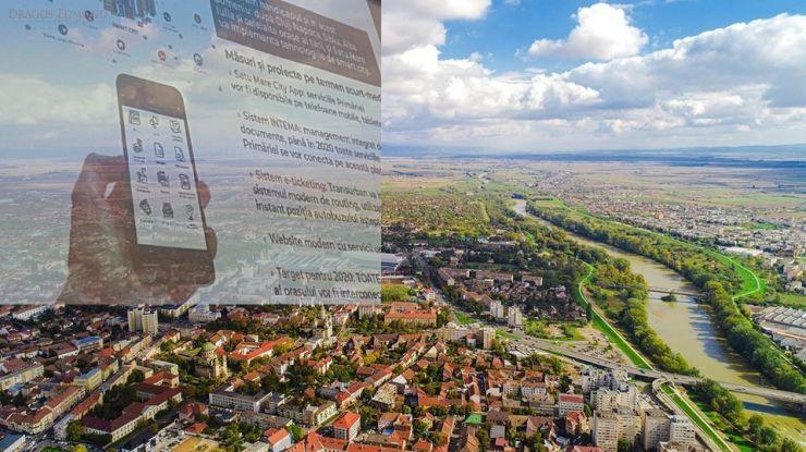 Satu Mare City App, aplicația orașului