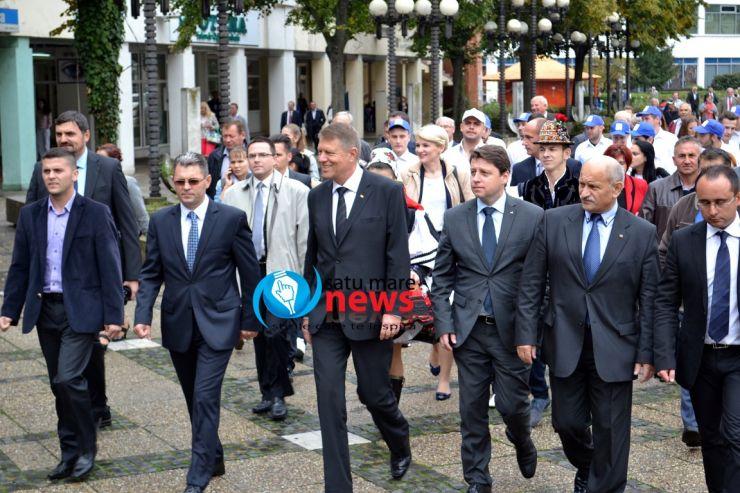 Preşedintele Klaus Iohannis vine în judeţul Satu Mare