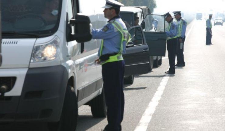 Filtre masive ale polițiștilor și RAR în Mădăras. Acțiune pe DN 19A