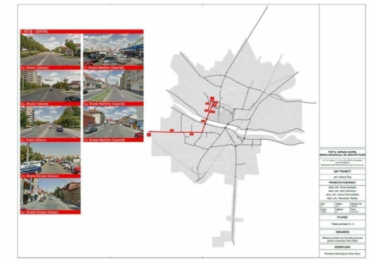 Municipiul Satu Mare va fi împânzit cu piste pentru bicicliști (Galerie foto)