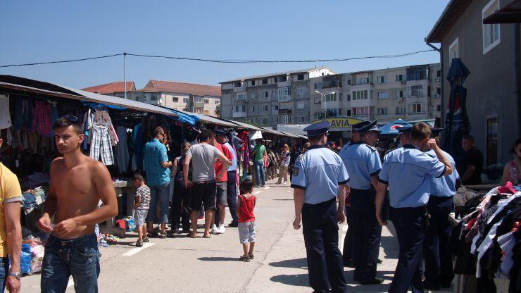 Careian amendat de polițiștii orădeni
