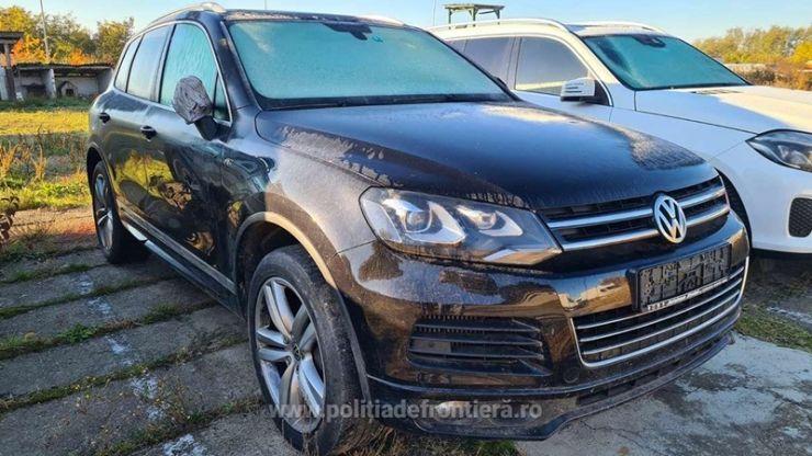 Volkswagen Touareg, în valoare de 100.000 de lei, furat din Germania, descoperit în Vama Petea