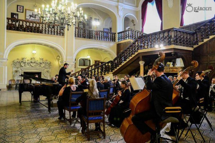 """Concertul Filarmonicii """"Dinu Lipatti"""" la Carei"""