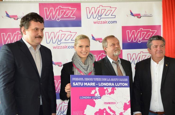 """Reprezentanții Wizz Air, foarte optimiști: """"Numărul biletelor vândute e minunat pentru primul zbor"""""""