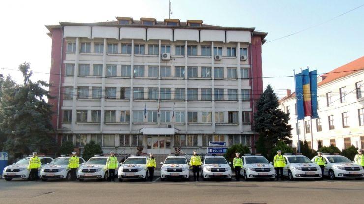 Poliția Satu Mare, dotată cu 12 mașini noi