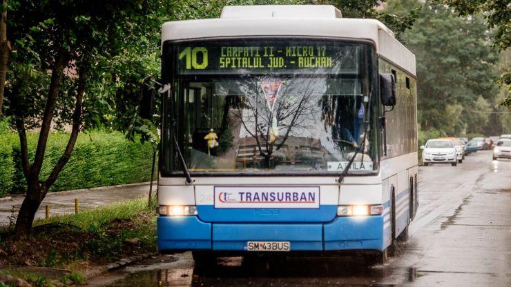 Din septembrie, Transurban eliberează abonamente subvenționate pentru elevii și preșcolarii sătmăreni