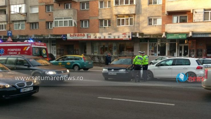 FOTO | Accident cu pagube materiale