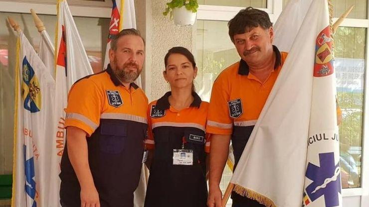 SAJ Satu Mare, locul VIII la Concursul Național al Echipajelor de Ambulanță