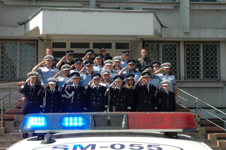 Moment de reculegere pentru poliţistul înjunghiat mortal în gara din Suceava
