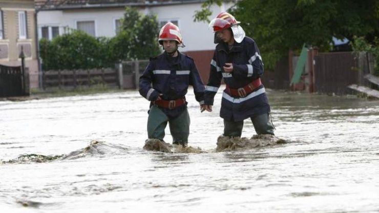 ATENȚIE! Cod portocaliu de inundații în județul Satu Mare