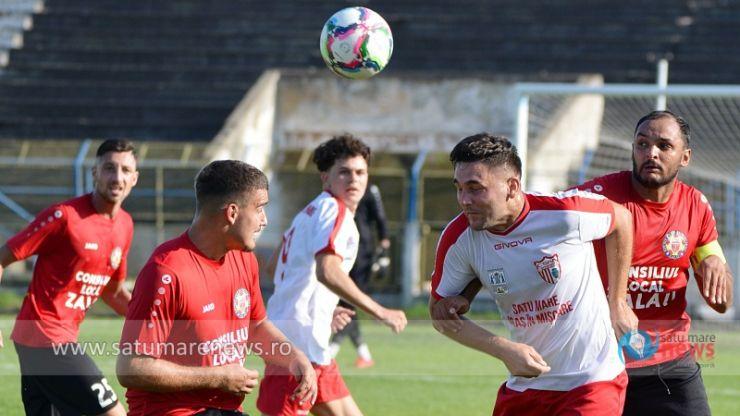 Liga 3 | CSM Satu Mare a pierdut jocul de pe teren propriu cu SCM Zalău