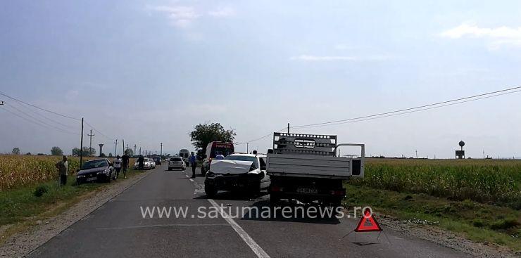 Accident rutier în Odoreu