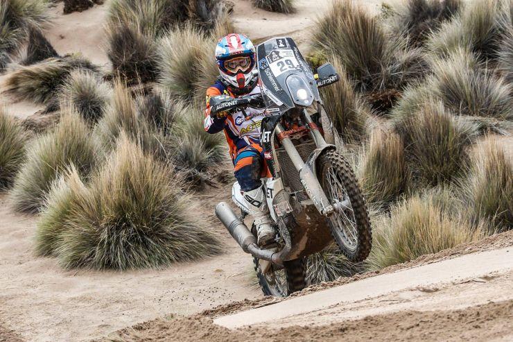 Dakar 2017 | Gyenes a terminat ziua 7 pe locul 30, la 26 minute de învingător