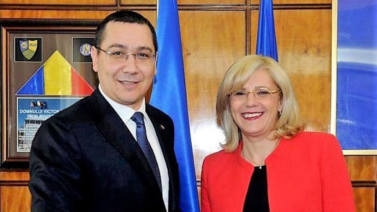 Victor Ponta și Corina Crețu participă la lansarea candidaților PRO România, la Satu Mare
