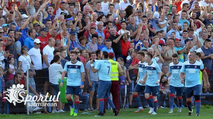 Liga 3 | FC Unirea Tășnad câștigă al treilea meci cu același scor