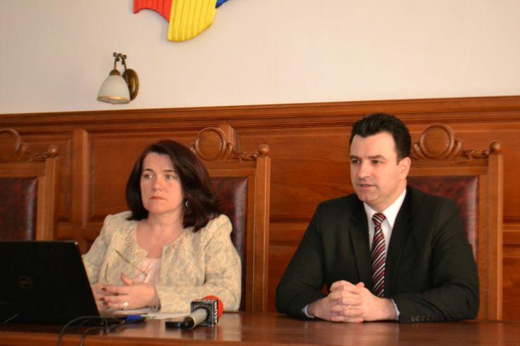 Lucrările de renovare a Palatului de Justiție Satu Mare se apropie de final