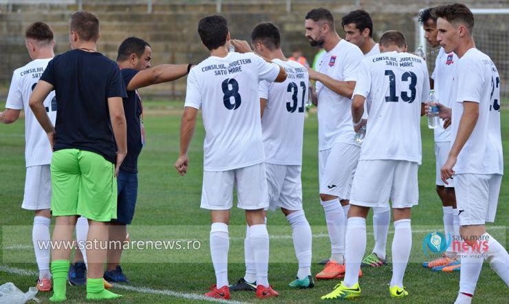 Liga 3 | Unirea Tășnad rămână neînvinsă si după deplasarea de la Bistrița